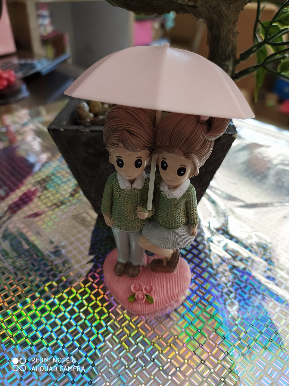 Buy Cute Couple with umbrella Online