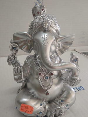 Silver colour Ganesha Idol  CT255