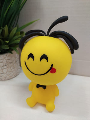 Smiley Showpiece Emoji with Funky hair DLM77