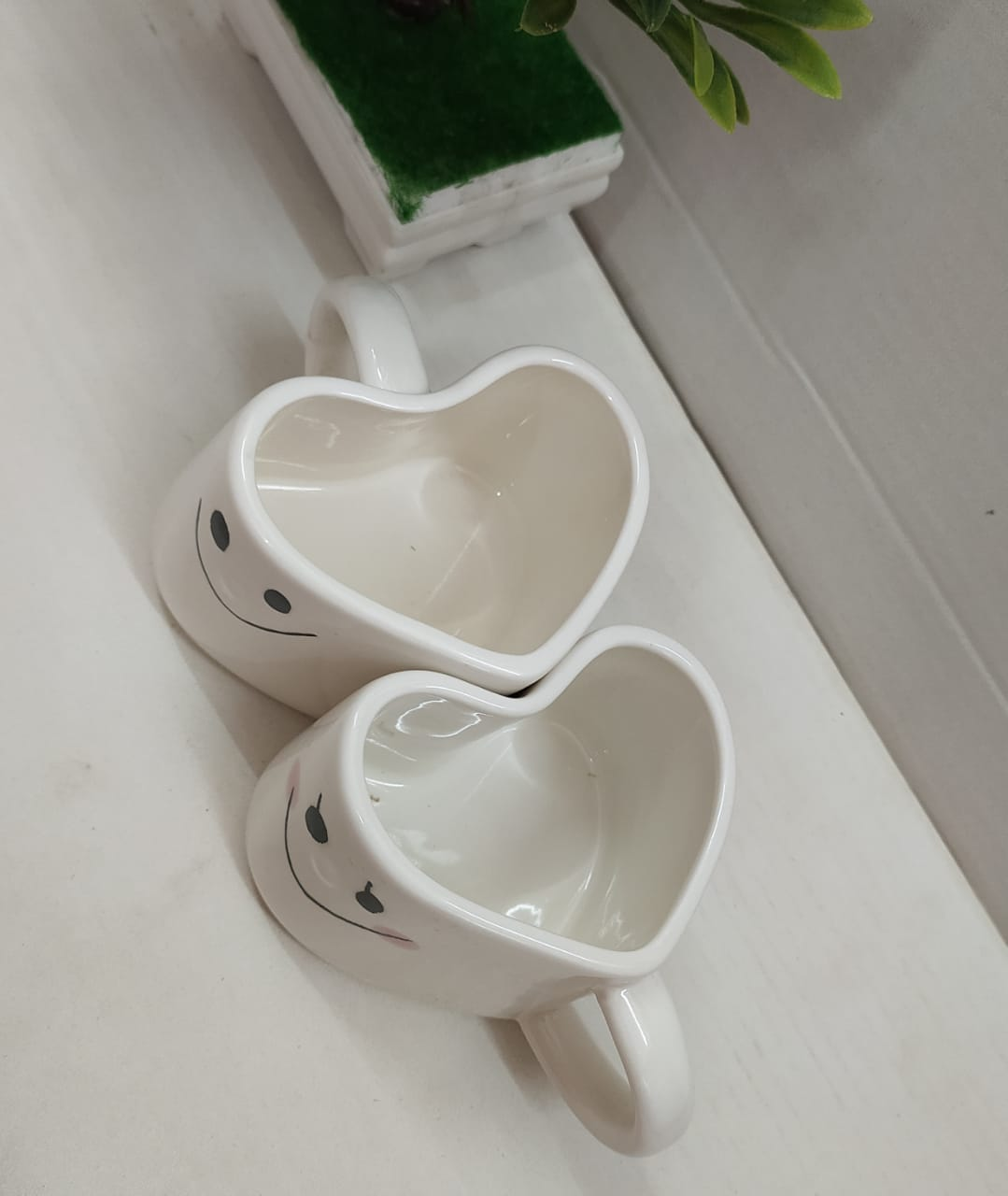 Love cup set in heart shape M32