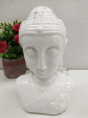 Buy Budha face head showpiece with oil diffuser and lighting (2 in 1) Plug-in model DE155 Online
