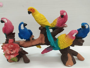 Buy Colourful parrots on the tree branch SPO411 Online