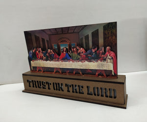 Buy Jesus Last Supper Showpiece LED (XM54) Online