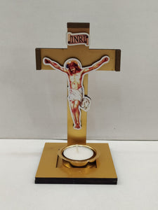 Buy Jesus Cross Candle holder (XM56) Online