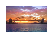 Load image into Gallery viewer, Sydney Harbour Bridge at sunrise