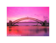 Load image into Gallery viewer, The pink sunrise at Blues Point