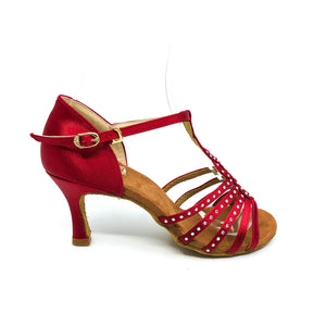 "Tulip Red 3"" Heel"
