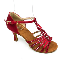 "Load image into Gallery viewer, Tulip Red 3"" Heel"