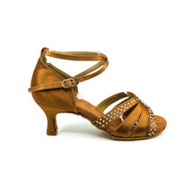 "Load image into Gallery viewer, Zoe Dark Tan 2.5"" Heel"