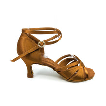 "Load image into Gallery viewer, Emma Dark Tan 3"" Heel"