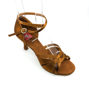 "Emma Dark Tan 3"" Heel"
