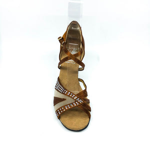 "Spin Dark Tan 2.7"" Heel"