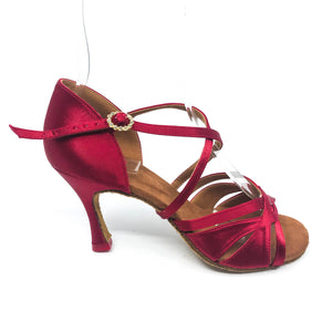 "Emma Red 3.2"" Heel"