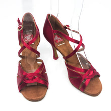 "Load image into Gallery viewer, Emma Red 3.2"" Heel"