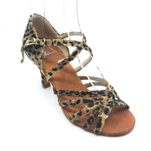 "Load image into Gallery viewer, Tara leopard 3"" Heel"