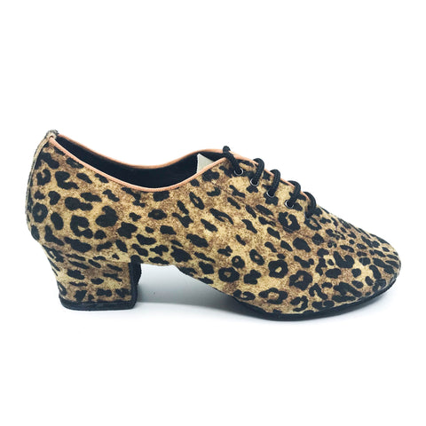 Terri Leopard Dance Shoes