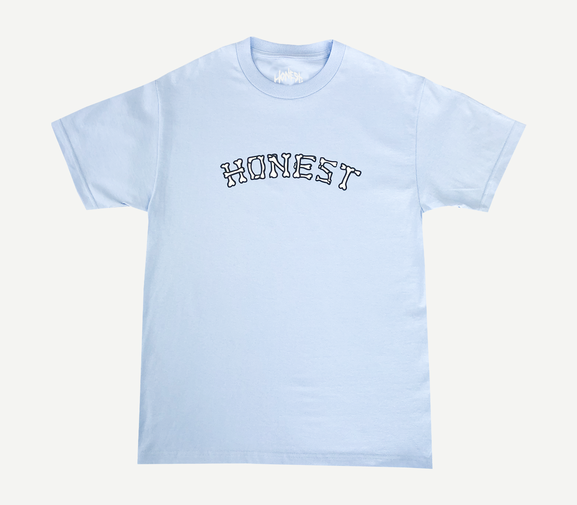 Bone Logo T-Shirt Light Blue
