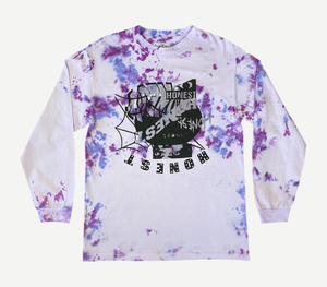 Multi Logo Tie Dye Long Sleeve