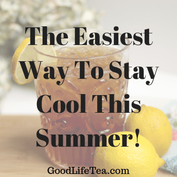 The Easiest Iced Tea!