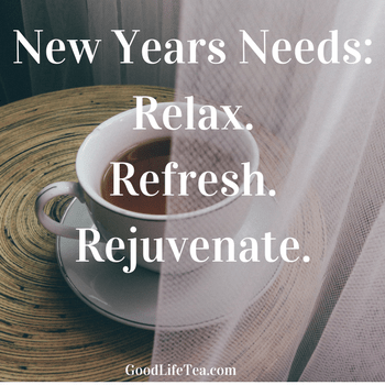 "New Year Needs: ""Relax. Refresh. Rejuvenate."""