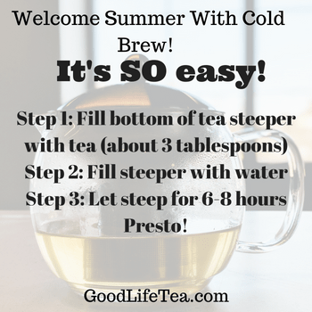 Welcome Summer with Cold Brew!
