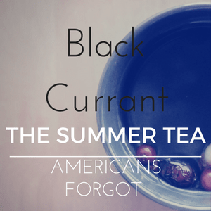 Black Currant - a summer iced tea