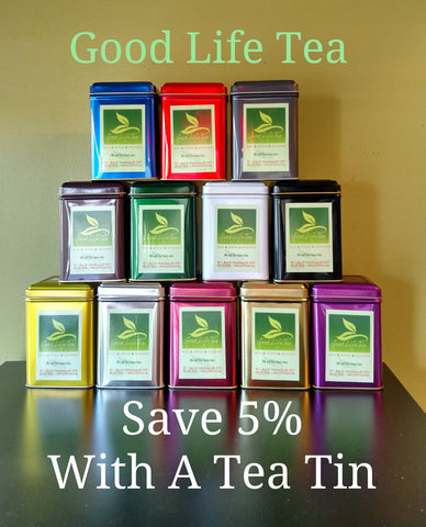 Save 5% with a Tea Tim