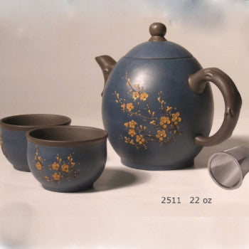 yixing tea pot for sharing loose tea