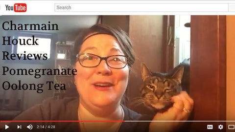 Charmain Houck reviews Pomegranate Oolong Tea