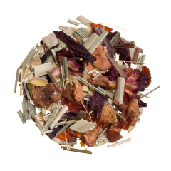 gingers tropical island loose fruit herbal tea