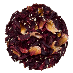 hibiscus loose herbal tisane tea