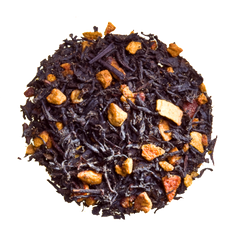 hot cinnamon spice loose black autumn tea fall tea