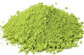 loose matcha green tea powder