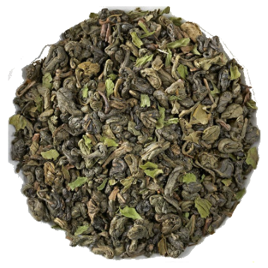 Moroccan mint tea green tea loose tea
