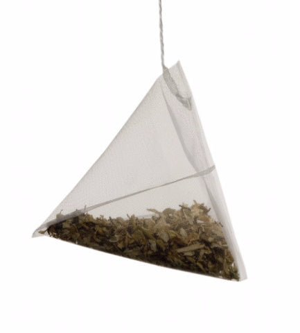 Pyramid tea bags are bad for the environment
