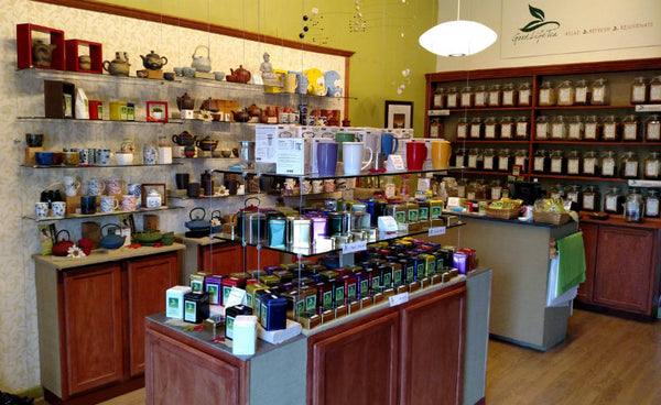 Good Life Tea Canandaigua NY inside the store