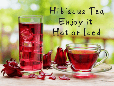 Hibiscus tea - Enjoy it hot or Iced