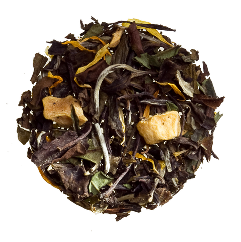 White peach loose tea white tea