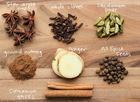 chai spices source pinteerst