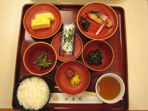 Typical Breakfast in Japan