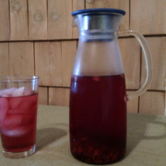 Fruit iced Tea and the Mist Iced Tea Maker