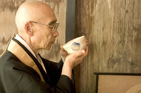 Buddhist  monks enjoy alertness and focus with green tea