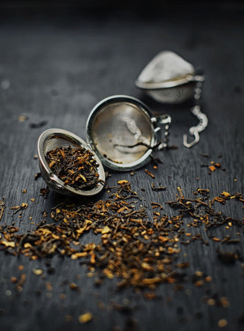 loose leaf tea samples