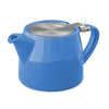 restaurant individual teapots with loose tea infuser baskets - assorted colors