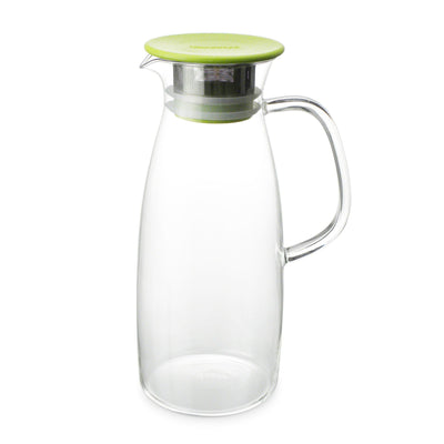 50 Ounce Glass Iced tea Pitcher - Hot or Cold Steeping