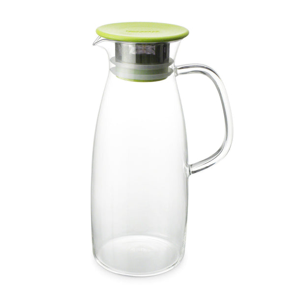 50 Ounce Glass Iced Tea Jug - Hot or Cold Steeping