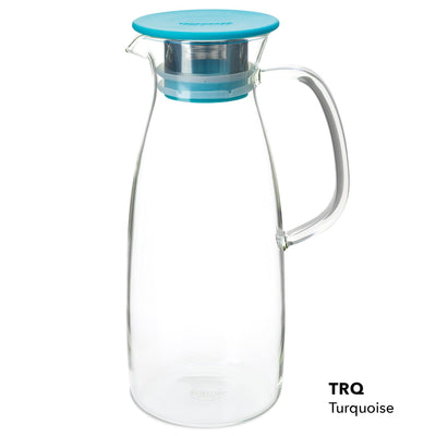 50 Ounce Glass Iced Tea Maker - Pyrex for hot or cold steeping