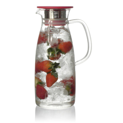 50 Ounce Glass Iced Tea Hot or Cold carafe