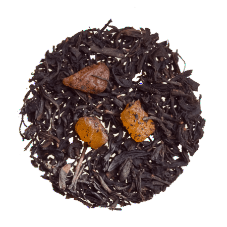 Apricot - Flavored loose Black Tea.
