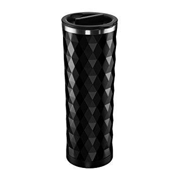 Double-Wall Stainless Steel Tea Tumbler With Infuser Basket | 16 ounces